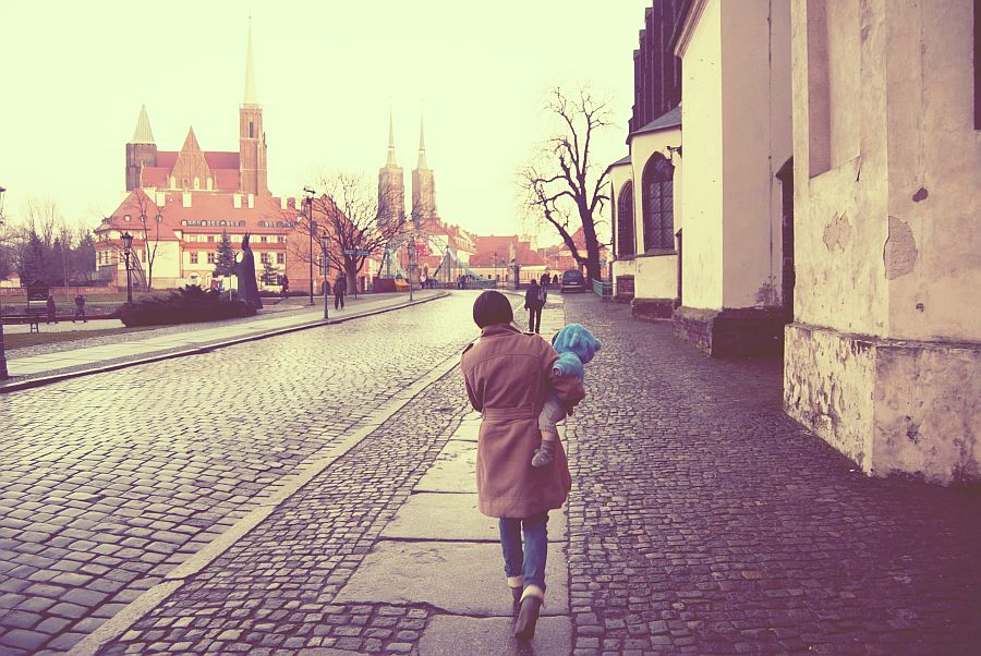 ruchoma szopka we Wrocławiu