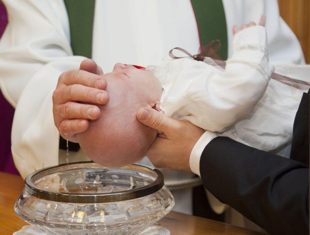 chrzciny w domu