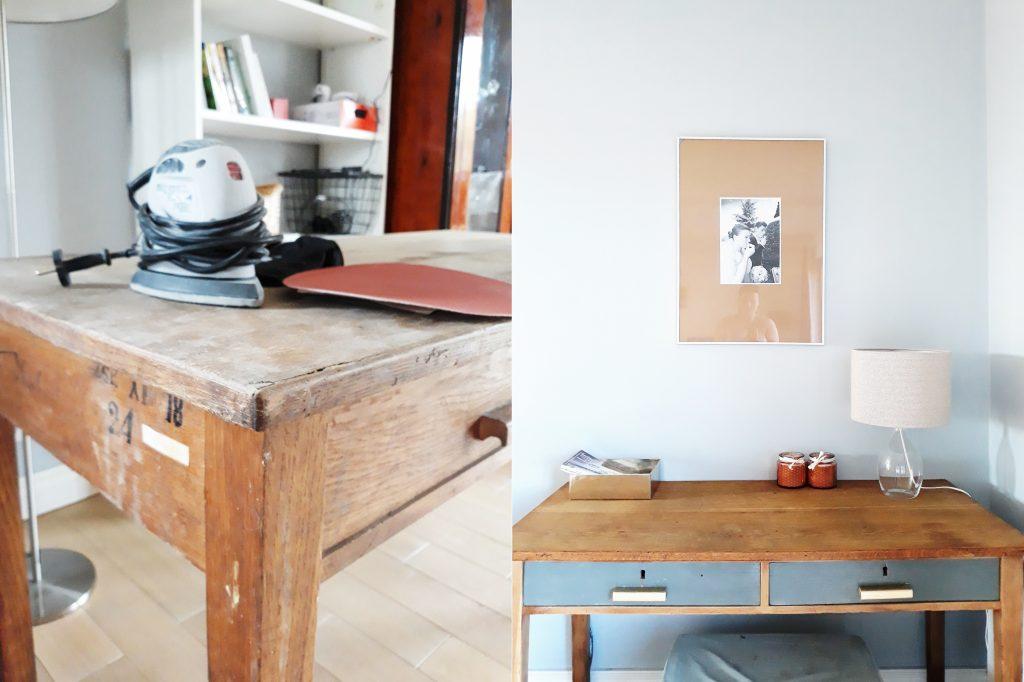 renowacja biurka