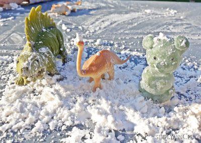sztuczny śnieg