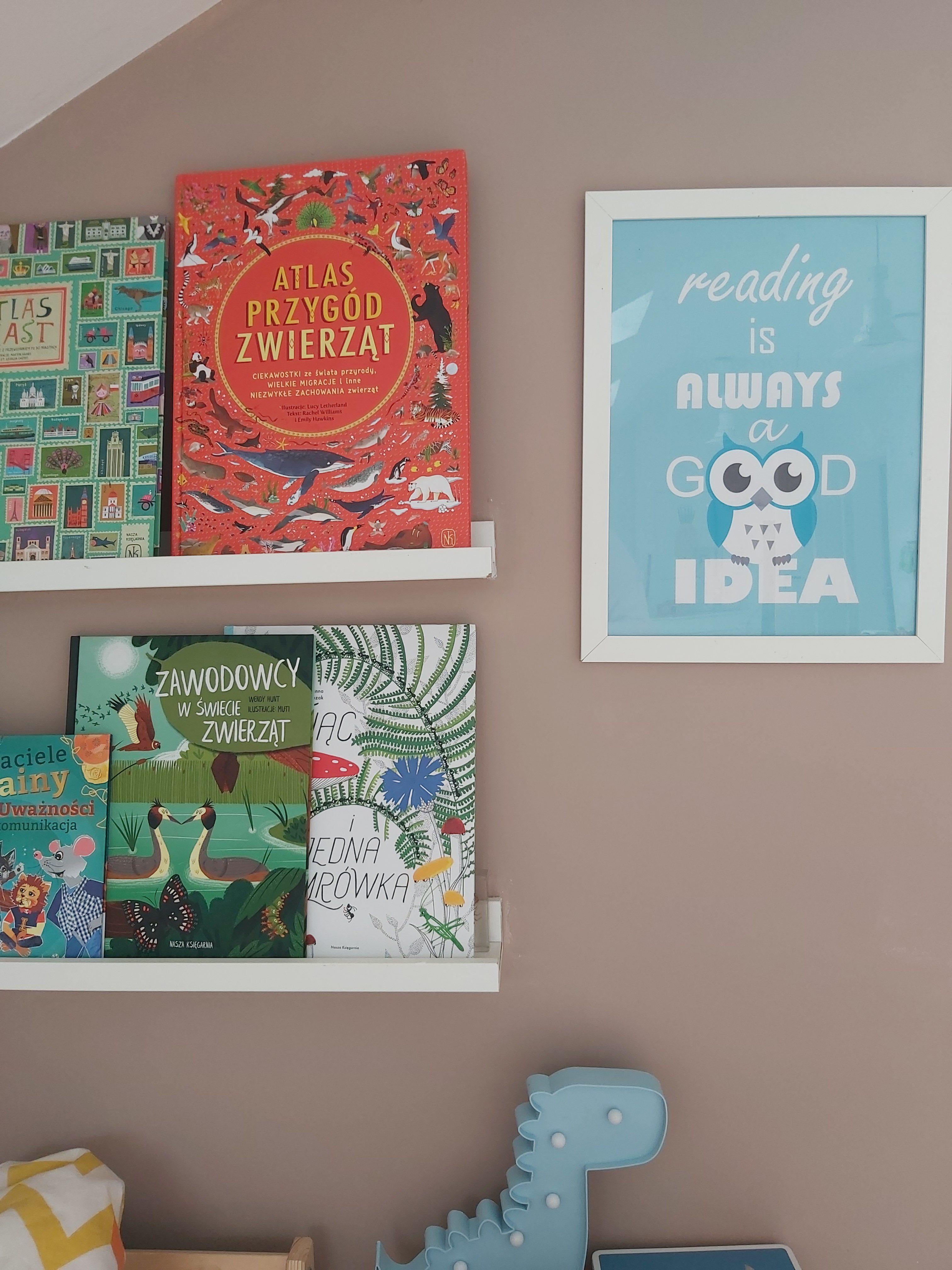 ksiazki w pokoju dziecka